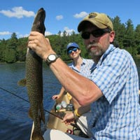 Guided Adirondack Fishing