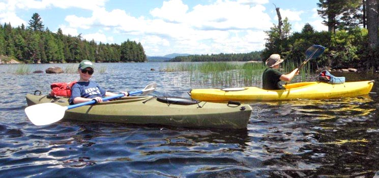 Guided Canoe & Kayak Trips